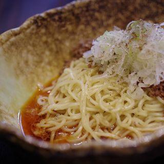 汁無し担担麺(中華そば くにまつ (國松))