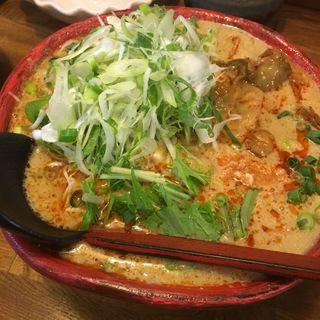 ピリ辛ごまみそ担々麺(らーめん 六三四 (むさし))