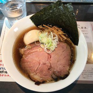 特製醤油らぁ麺(麺や 青雲志 (メンヤ セイウンシ))