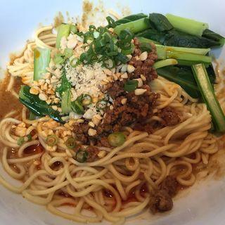 汁なし激辛担々麺(中国料理 XVIN (イクスヴァン 【旧店名】シェンロングランデ))