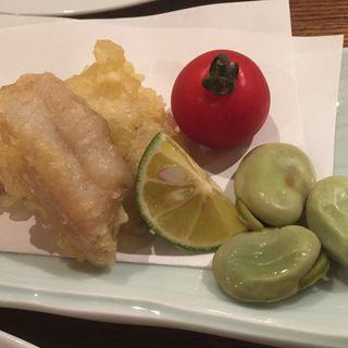 太刀魚の天ぷら(芦屋ロマンス )
