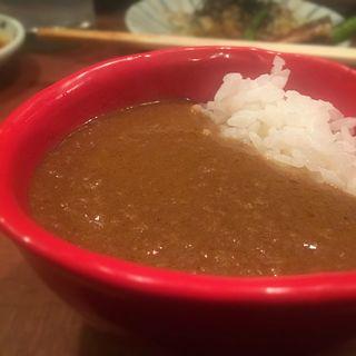 賄いカレー(炭火焼 ゆうじ)