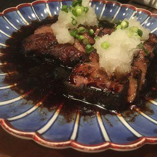 レバーステーキ(炭火焼 ゆうじ)