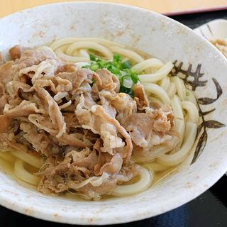 かけそのまま+肉(安西製麺所 (アンザイセイメンショ))