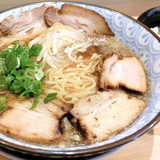 背脂煮干しラーメン+チャーシュー(若松)