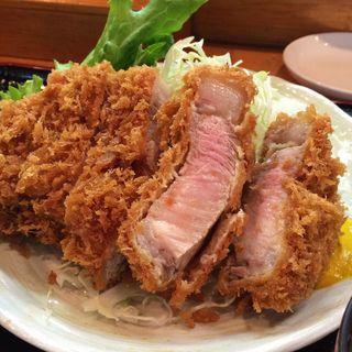 特選豚ロースかつ(萬清 (まんせい))