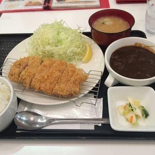 上ロースかつ定食(ティーダイニング (T.dining))