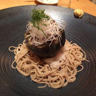 丸茄子おろし蕎麦(酒彩蕎麦 初代)