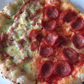 ハーフ&ハーフ(センプレ ピッツァ アトレ亀戸店 (sempre pizza))