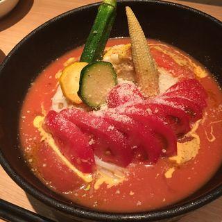 トマト冷麺(炭焼酒菜 HANABI )