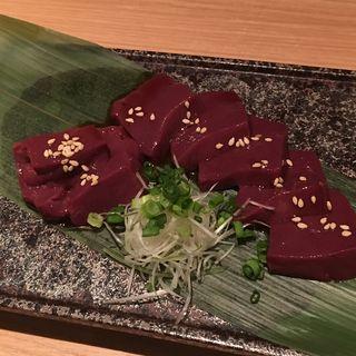 極上レバー(炭焼酒菜 HANABI )