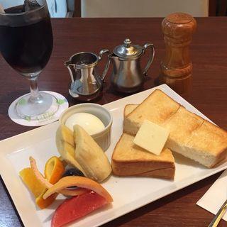 モーニング トーストセット(京橋千疋屋 アトレ恵比寿店 (キョウバシセンビキヤ))