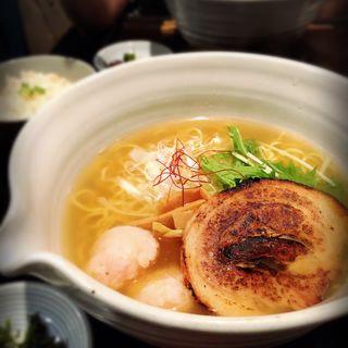 銀笹塩ラーメン(銀笹 (ぎんざさ))