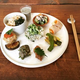 玄米プレート(キッチンワーク (kitchen work))