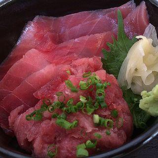 マグロづくし丼(タニヤ食堂 (【旧店名】たにやの食堂))