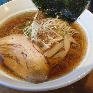 煮干し中華そば(拉麺ほそや)