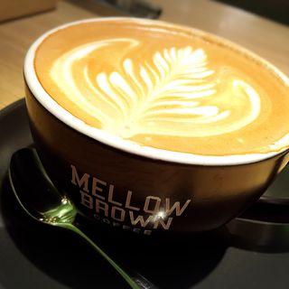 カプチーノ(メロウ ブラウン コーヒー グランツリー武蔵小杉店 (MELLOW BROWN COFFEE))