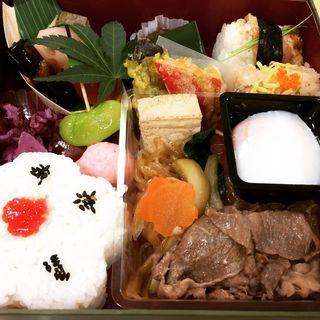 お弁当 折詰 若竹(人形町今半 銀座店 (にんぎょうちょういまはん))