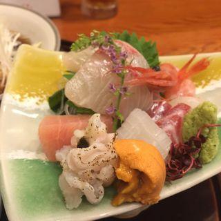 季節のお造り盛り合わせ(日本料理 わじま )