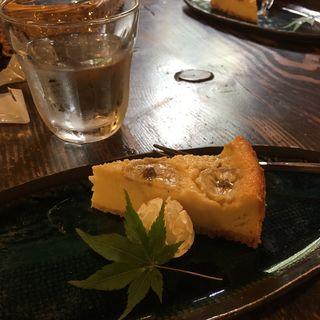 手作りバナナチーズケーキ(カフェテラス 北山 (カフェテラス キタヤマ))