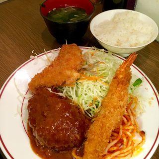 ミックスC定食(キッチン大正軒)