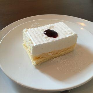 ダブルチーズケーキ(ウチズ カフェ (UCHI's Cafe))