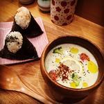 アボカドの冷製スープセット