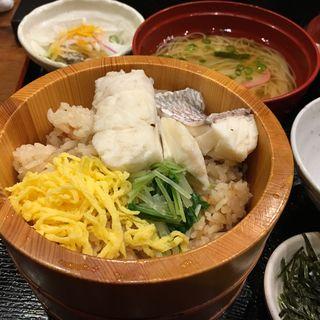 鯛めしセット(郷土料理 五志喜 本店 (ごしき))