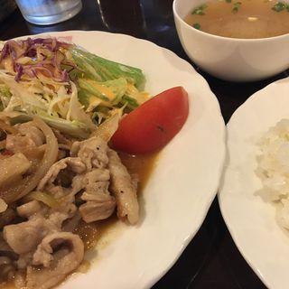 豚バラ肉のスタミナ焼き(ゴローズキャフェ )