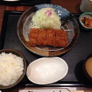 ヒレカツ膳(とんかつ 和幸 東京駅一番街店 (わこう))