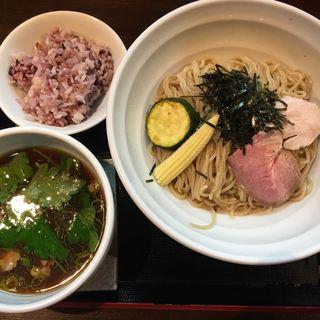 鴨醤油つけ麺(麺屋玉ぐすく )