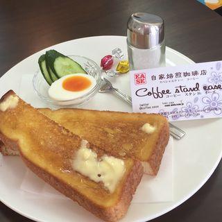 るんるんトーストタイムのトースト(Ease (イーズ))