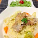 チキンと野菜のパスタランチ