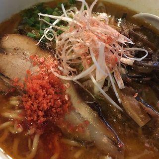 海老そば味噌(麺屋 丸鶏庵 (まるちあん))