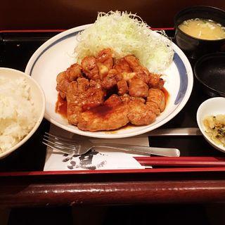メガ盛とんてき定食(ぎおん亭 交通センター店)