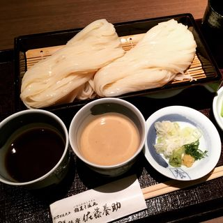 二味せいろ(胡麻味噌・醤油)(銀座 佐藤養助 (ぎんざ・さとうようすけ))