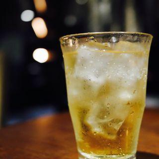 杏子酒のソーダ割り(石庫門 川崎ダイス店)
