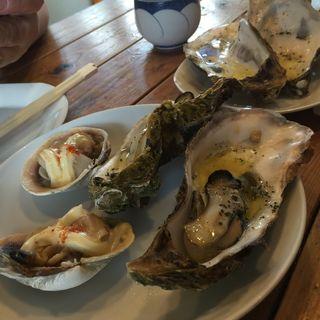 岩牡蠣のオイル焼き(裏メニュー)