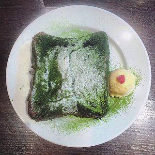 抹茶フレンチトースト(ティーベニール (TEA VENIR))
