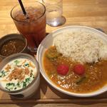 ゴーヤと豚肉の沖縄風カレー