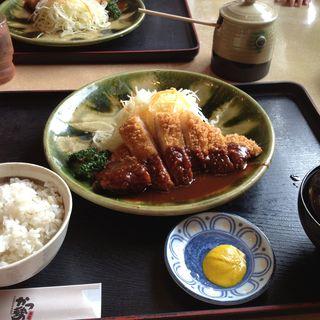 味噌かつ膳、小120g(かつ勢本店 津 )