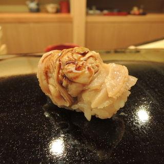 帆立貝の握り(日本橋蛎殻町すぎた)