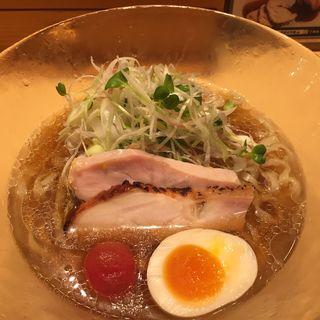 冷やし鶏そば醤油(夏麺第2弾)(饗 くろ喜 (もてなし くろき/饗 くろ㐂))