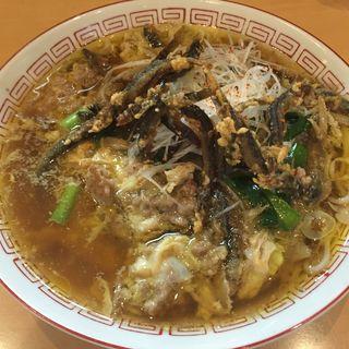 魚魂〜どぜう〜(市川ラーメン組合 コラボ限定)(魂麺  (コンメン【旧魂麺 まつい】))
