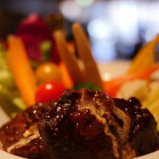 とろとろビーフと温野菜(オリエンタル カフェ (ORIENTAL CAFE))