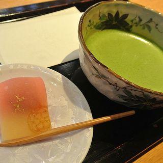 お抹茶セット(京都茶寮 (【旧店名】ギャラリーカフェ 京都セレクション))