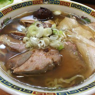 肉醤油ワンタン(ラーメン哲史 (ラーメンテツシ))