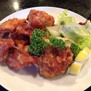 鶏の唐揚げ(カフェレストランすいごう)