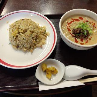 担々セット(海月食堂 (くらげしょくどう))