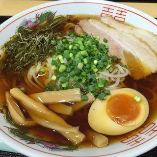 冷たい煮干しラーメン(かごめ昆布入り)(東急東横店 催事場)